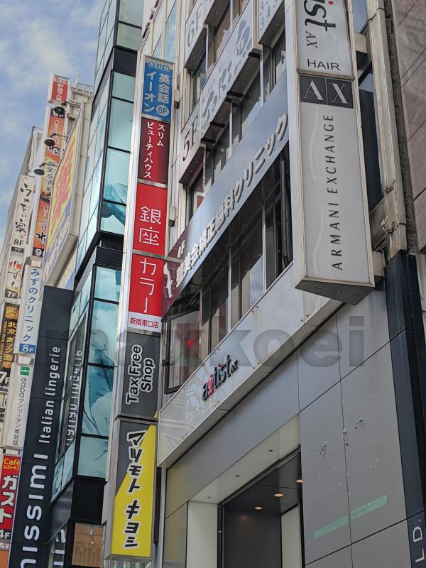 銀座カラー新宿東口店 アクセス